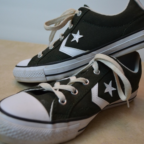 68467f537d62 Converse Shoes - NWOT Converse Limited Edition Black Low Tops
